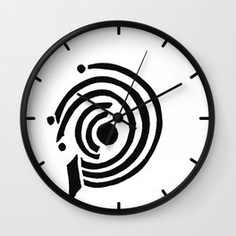 Black and White Design 31 Wall Clock