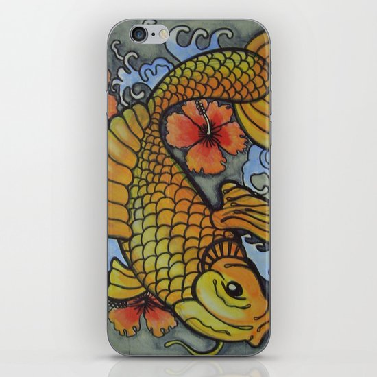 koi fish 02 iPhone & iPod Skin