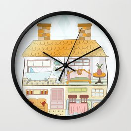 I {❤} Dollhouse Wall Clock