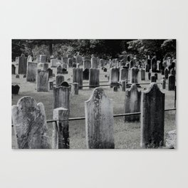 Sleepy Hollow Graves Canvas Print