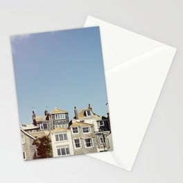 St. Ives house with tilt and shift view. Stationery Cards