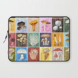 Mushroom Study Laptop Sleeve