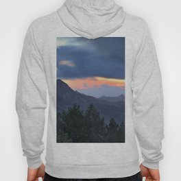 Dream sunset. At the mountains... Hoody