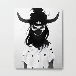 L'artiste Metal Print