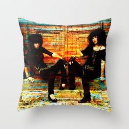 21ST CENTURY LAVERNE AND SHIRLEY Throw Pillow