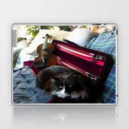 The Cat and the Fiddle (Gracie Queen of Chicago Collection) Laptop & iPad Skin
