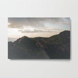 Runyon Canyon Metal Print