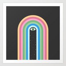 Galaxy Tears Art Print