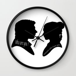 Someone who loves you • Return of the jedi Wall Clock