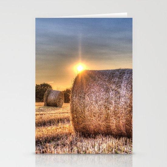 Summer Evening Farm Stationery Cards