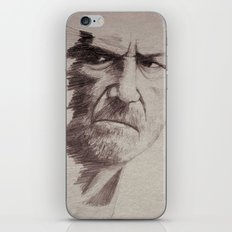 HALF FACE II iPhone & iPod Skin