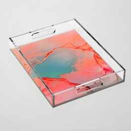 BETTER TOGETHER - LIVING CORAL by MS Acrylic Tray