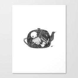 Teapot Animus Canvas Print