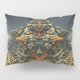 On Point - Fractal - Mandelbulb - Manafold Art Pillow Sham