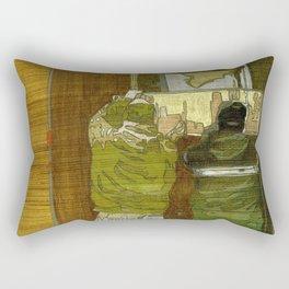 Ceased Rectangular Pillow