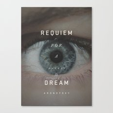 A Movie Poster A Day: Requiem Canvas Print