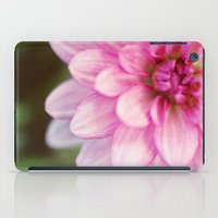 dahlia iPad Cases featuring dahlia by Beverly LeFevre