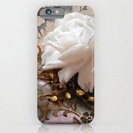 Winter Rose iPhone Case