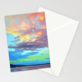 Sky Opus by Amanda Martinson Stationery Cards