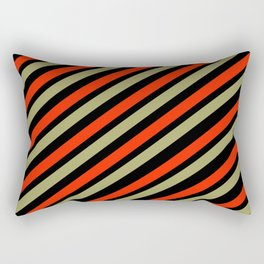 TEAM COLORS 1…red,gold black Rectangular Pillow