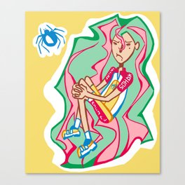 Makishima Yuusuke  Canvas Print