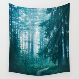 Peer Through The Trees Wall Tapestry