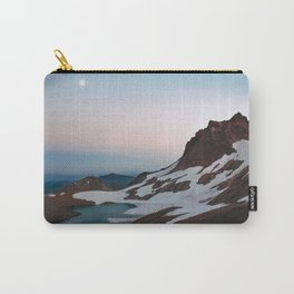 Alpine Lake Moonrise Carry-All Pouch