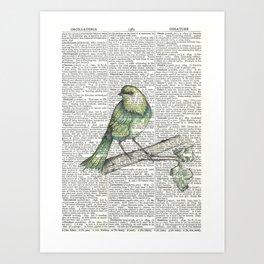 Green Is Cool Art Print