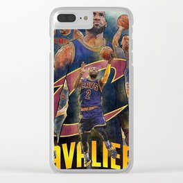 cavaliers Clear iPhone Case