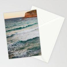 MEDITERRANEAN WAVES Stationery Cards