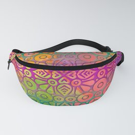 DP050-2 Colorful Moroccan pattern Fanny Pack