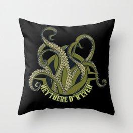 Nerdy - Lovecraft R'lyeh Throw Pillow