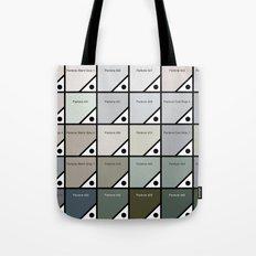 50 Shades Of Pantone Grey Tote Bag