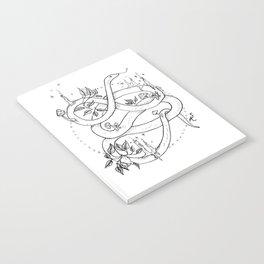 Embellished Snake Notebook