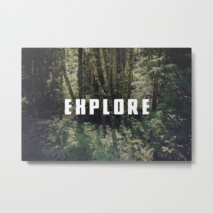 Explore: Forest Metal Print