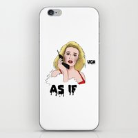 clueless iPhone & iPod Skins featuring Clueless by Steven Crissey