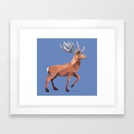 Reindeer.  Framed Art Print