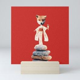 Foxy Doll Mini Art Print