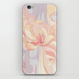 Floral Drip iPhone Skin