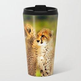 Pair of Cheetahs Travel Mug