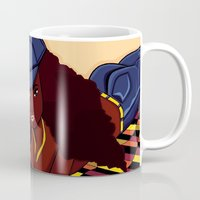 coco Mugs featuring Coco by Courtney Ladybug Johnson