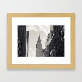 The Chrystler Building Framed Art Print