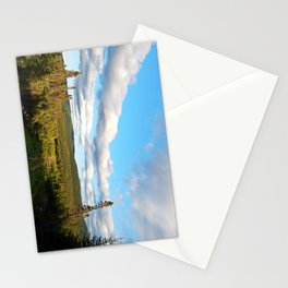 Big Skies over Mountain Trail Stationery Cards