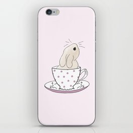 Little cup of fluff iPhone Skin