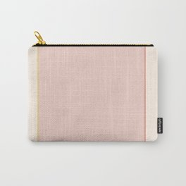 Subtle Spring Color Block Carry-All Pouch
