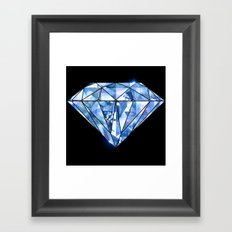 Facets you like Framed Art Print