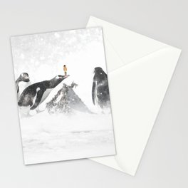 Penguins and me Stationery Cards