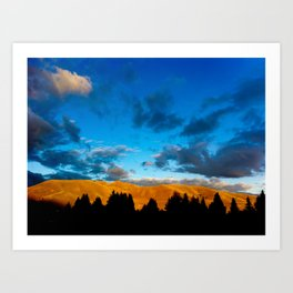 Sun and the Darkness Art Print