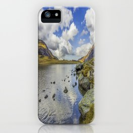 Lake Idwal iPhone Case