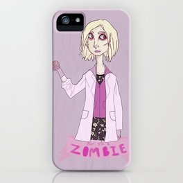 but i'm a zombie iPhone Case